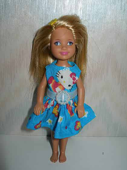 Chelsea Blue Hello Kitty Dress