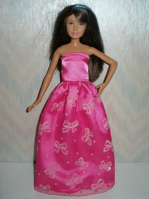 Skipper Hot Pink Gown