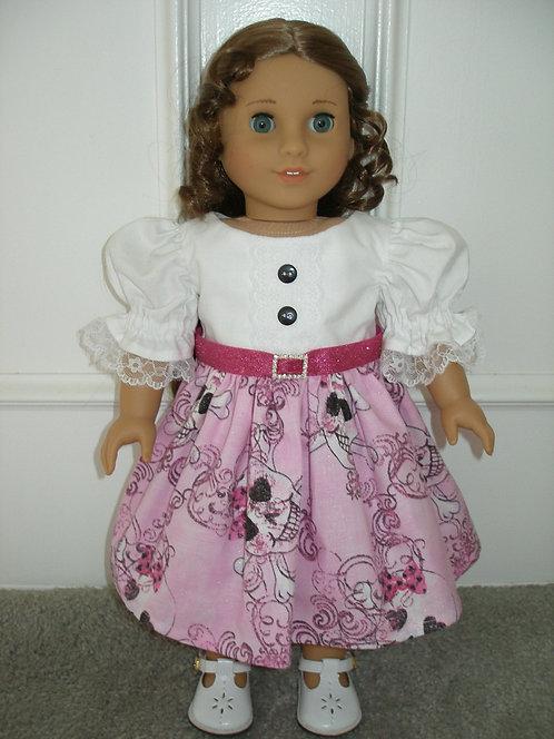 AG - Pink Skulls Dress