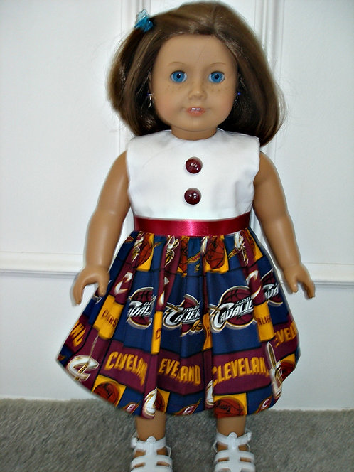 AG Cleveland Cavs Print Dress