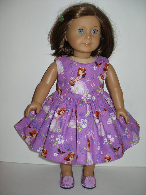 AG - Princess Sophia Print Dress
