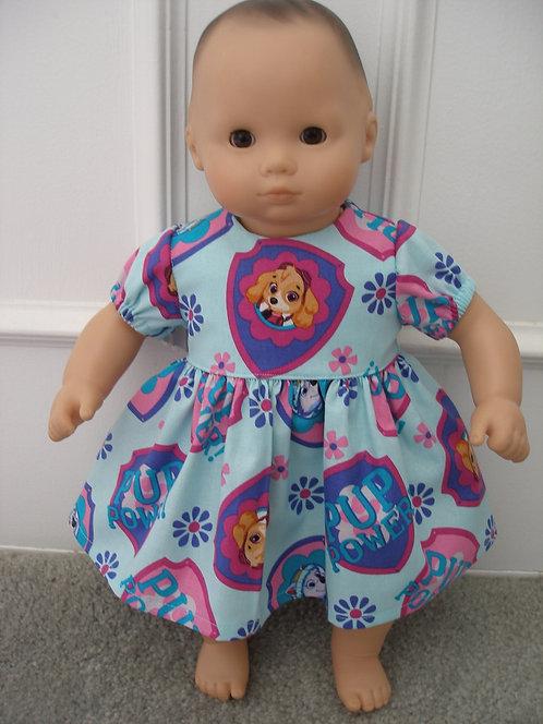 Bitty Baby Size Paw Patrol Print Dress