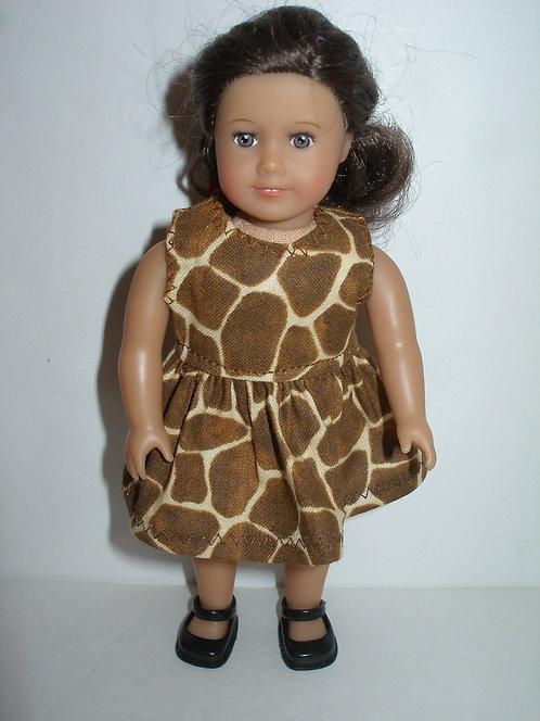 AG Mini - Brown Animal Print Dress