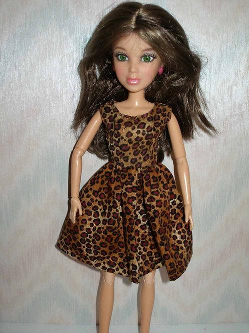 LIV Animal Print Dress