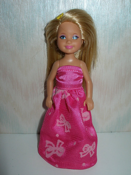 Chelsea Hot Pink and Bows Gown