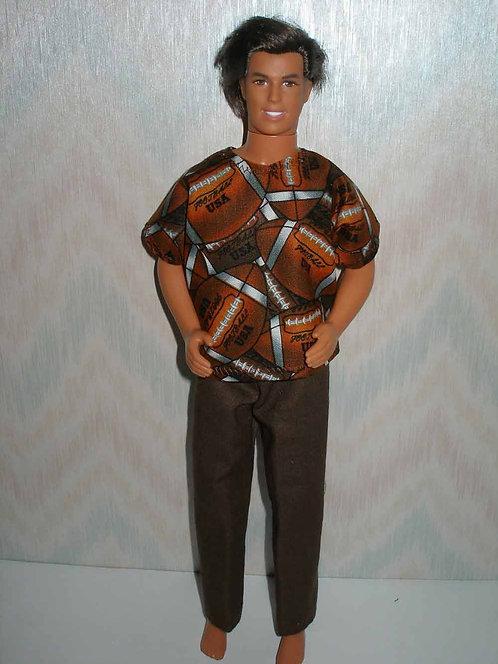 Ken Footballs Outfit