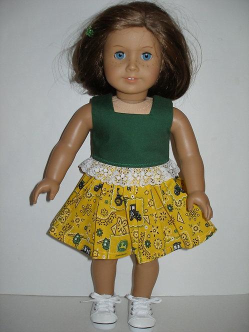 AG John Deere Print Skirt Set