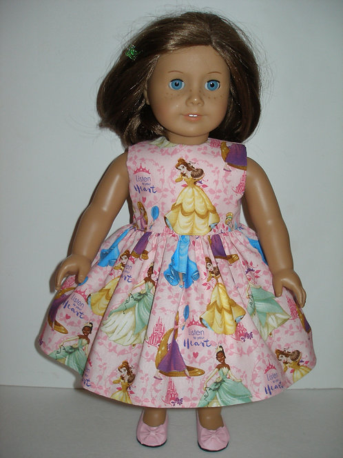 AG Pink Princesses Dress w/pink shoes