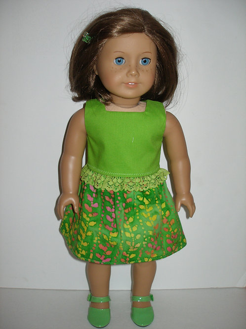 AG Green Skirt Set