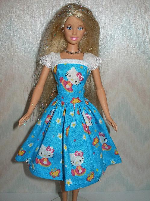 Hello Kitty Dress with Eyelet