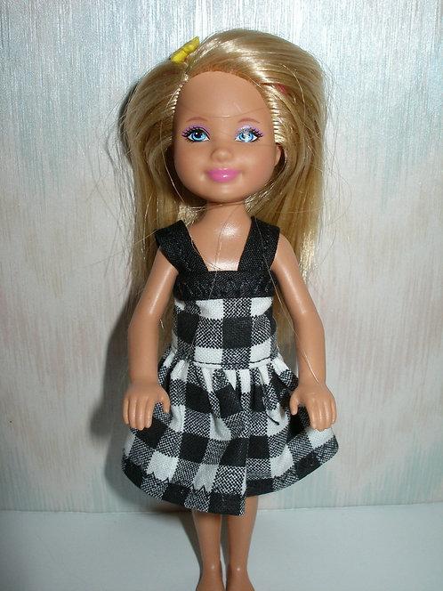 Chelsea Plaid Dress w/Straps