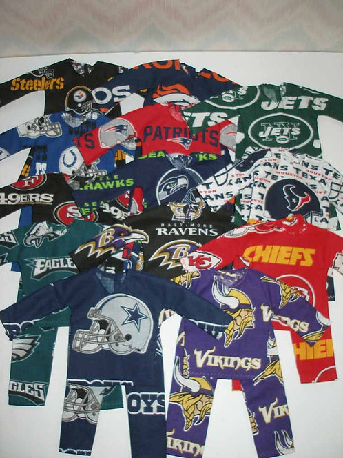 Elf NFL Team Outfit - More Options