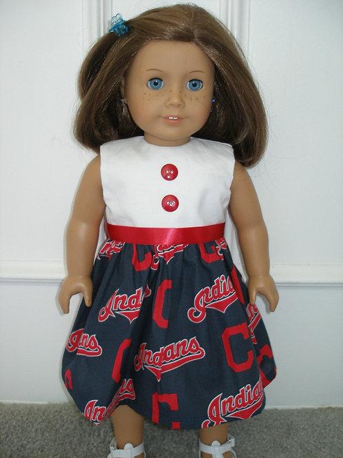 AG Cleveland Indians Print Dress
