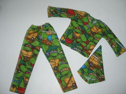 Elf - Ninja Turtle Outfit