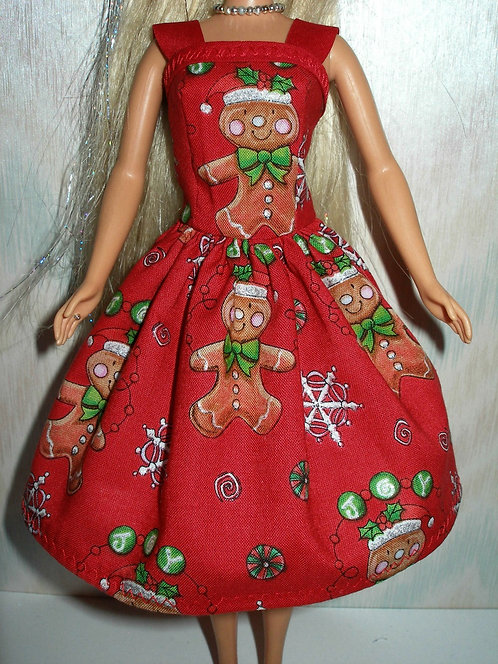 Holiday Gingerbread Dress