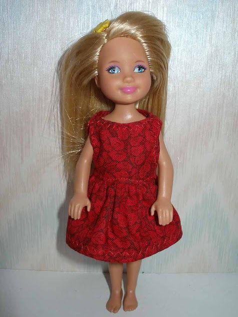 Chelsea Red Leaf Dress