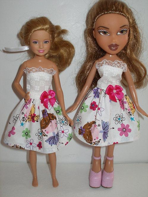 Stacie/Bratz floral ballerina print