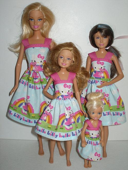 Rainbow Hello Kitty Sister Set