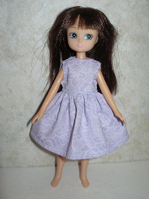 Lottie - Orchid Floral Dress