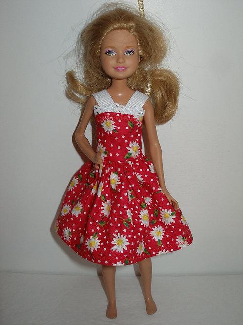 Stacie/Bratz Blue or Red Daisy Dress