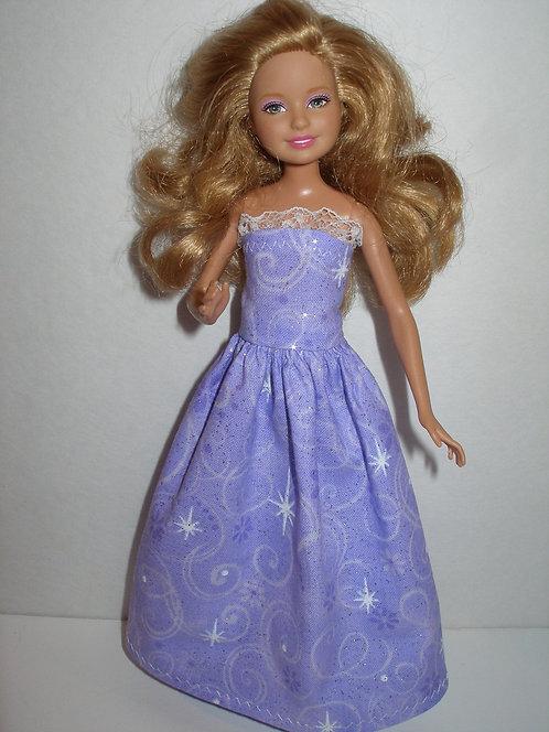 Stacie Purple Gown