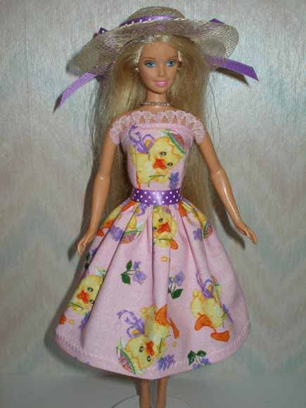 Easter Chick Dress and Hat - More Colors