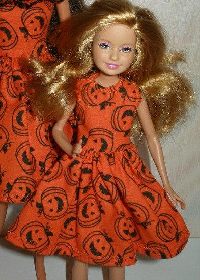 Stacie Orange Halloween Dress