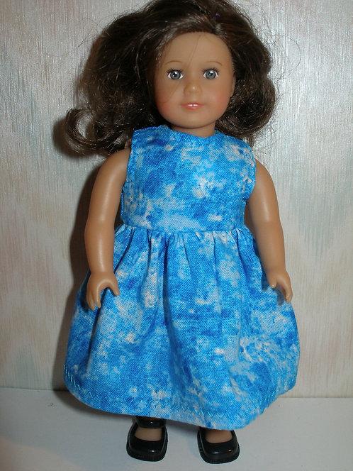 AG Mini - Blue Tie Dye Dress