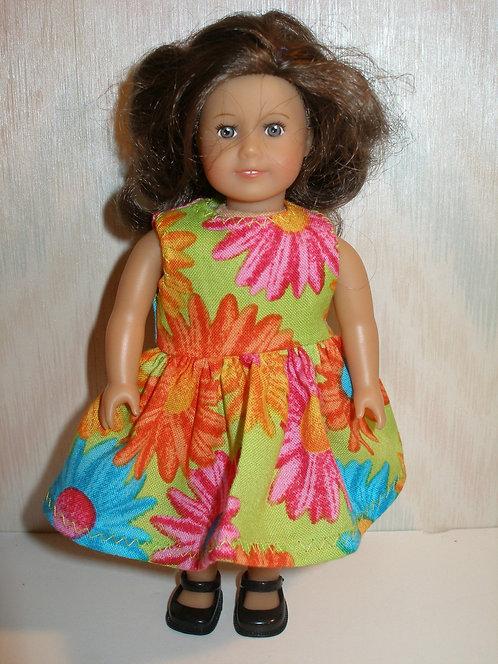 AG Mini - Bright Floral Dress