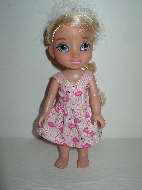 """6"""" Princess - Print Dress w/Ribbon Straps"""