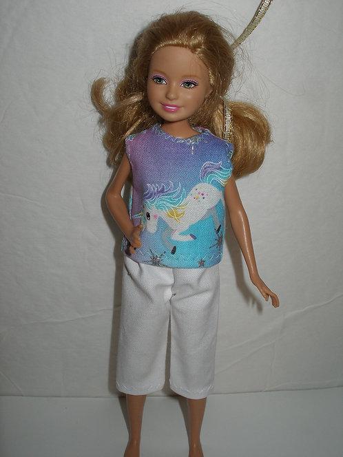 Stacie - Unicorn Capris Outfit