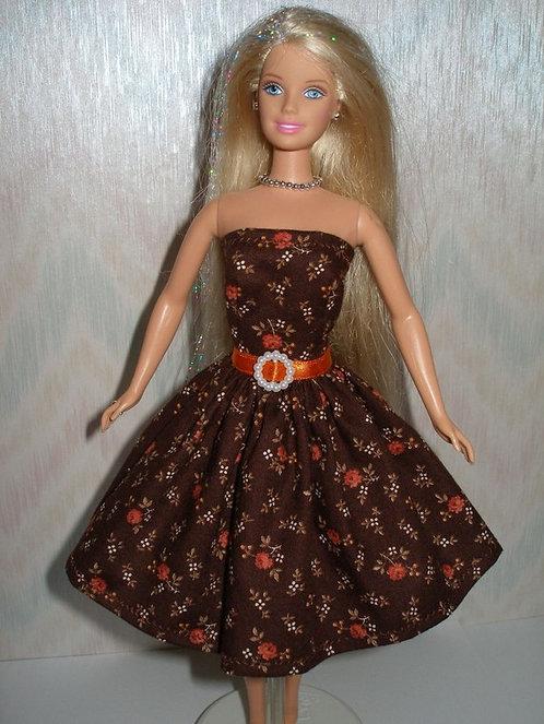 Floral Sun Dress w/belt - More Colors