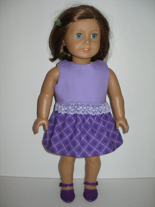 AG Purple Skirt Set