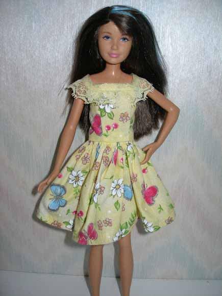 Skipper Yellow Spring Dress