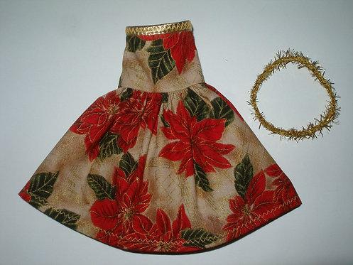 Elf Poinsettia Dress