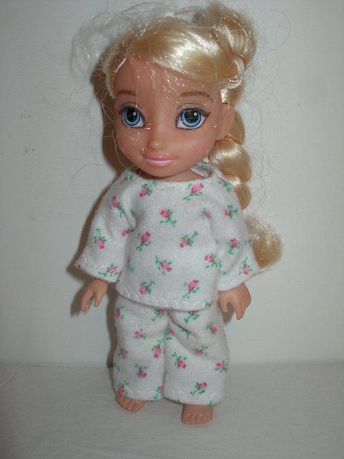 "6"" Princess - Flannel Print PJ's"