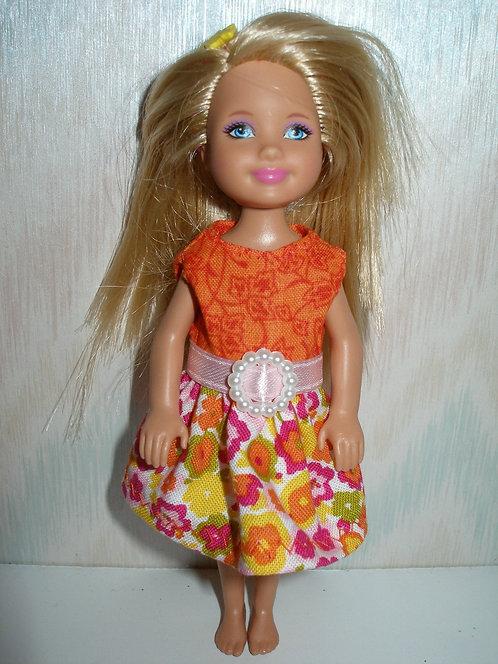 Chelsea Orange w/Floral