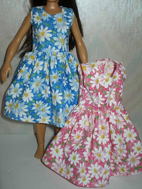 Lammily Daisy Print Dress - More Colors