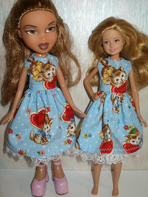 Stacie/Bratz Blue Valentine Kittens