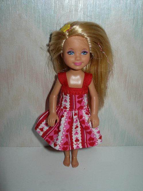 Chelsea Valentines Dress w/straps