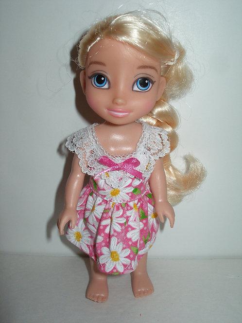 "6"" Princess - Dress w/lace trim"