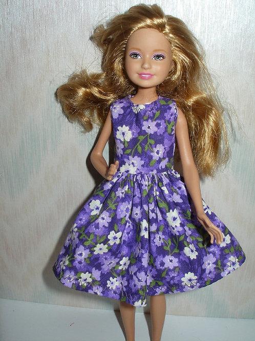 Stacie/Bratz Purple Floral Dress