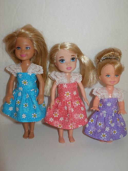 Chelsea - Daisy Dress w/lace straps - More Colors