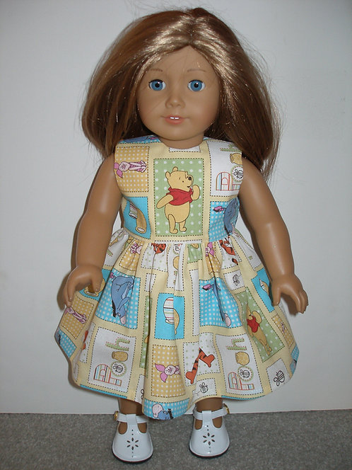 AG Winnie the Pooh Print Dress w/shoes