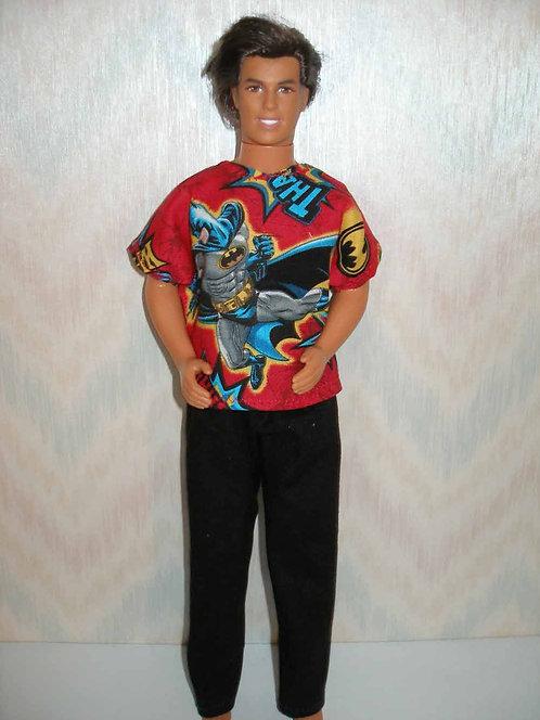 Ken Batman Outfit
