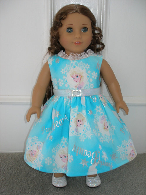 AG Elsa Princess Dress w/shoes