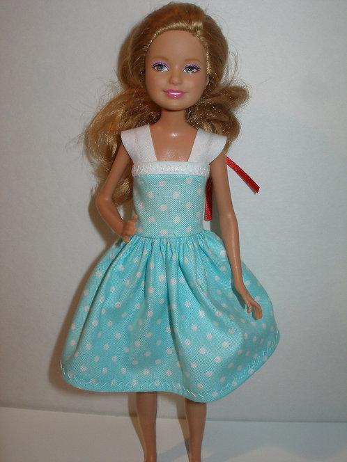 Stacie/Bratz Polka Dot Dress w/strap - more colors