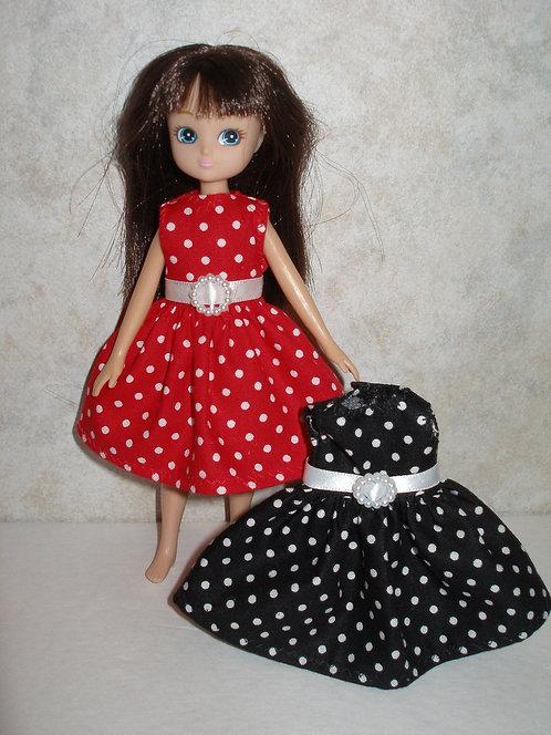 Lottie - Polka Dot Dress - More Colors