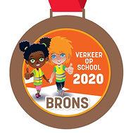 Digitale schoolpoortmedaille Brons 2020