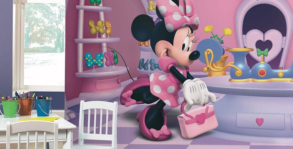 Minnie Fashionista - Kids Mural Wallpaper